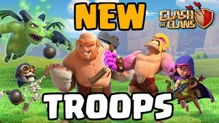 Clash of Clans NEW TROOPS GAMEPLAY! Builder Base Level 5 - CoC Update 2017