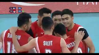 FINAL SEAGAMES 2019 VOLLEYBALL MEN'S. (INDONESIA VS FILIPINA)
