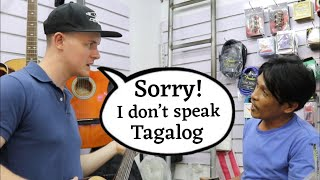 ENGLISH ONLY PRANK in DIVISORIA! (LAPTRIP TALAGA TO!)