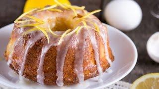 Очень вкусный лимонный кекс, а рецепт простой:)