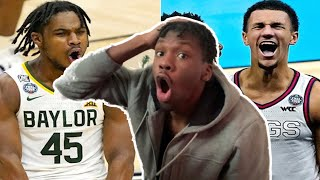 BAYLOR IS NOT FAIR! | Baylor vs Gonzaga Highlights Reaction