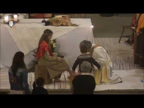 Missa da Ceia do Senhor e Lava-pés - Matriz da Ribeira Grande - 18.04.2019