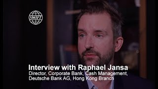 Deutsche Bank discusses gpi and importance of universal payment confirmation | SWIFT
