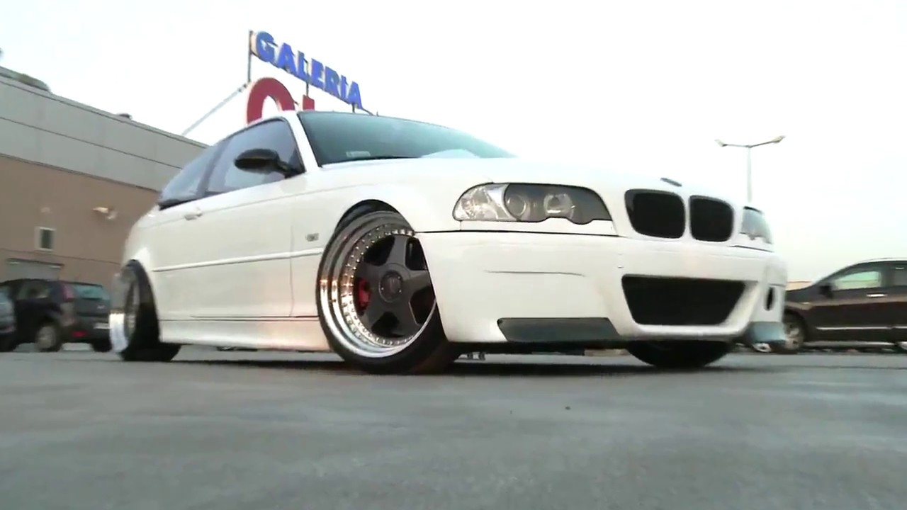 Bmw E46 M3 Csl Look S54b32 White Coupe By German