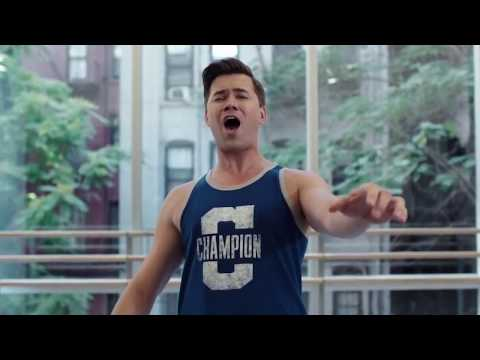 Andrew Rannells singing 'Let me be your star'