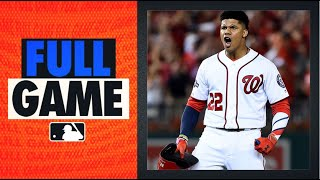 2019 NL Wild Card Game - Brewers vs. Nationals (Juan Soto leads huge comeback win for Nats!)
