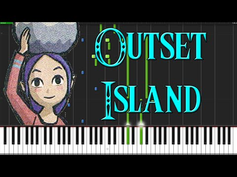 Outset Island - The Legend of Zelda: The Wind Waker [Piano Tutorial] (Synthesia)