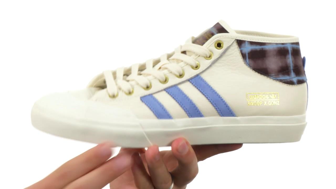 best service cfc88 fdcfe adidas Skateboarding Matchcourt Mid X Snoop X Gonz SKU 8872734