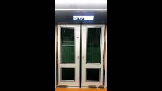 扉開閉+車内放送:千葉都市モノレール0形