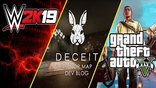 Gta V Online | Deceit | WWE2K19 |GOW 1 | Road to 96k subs #tamil