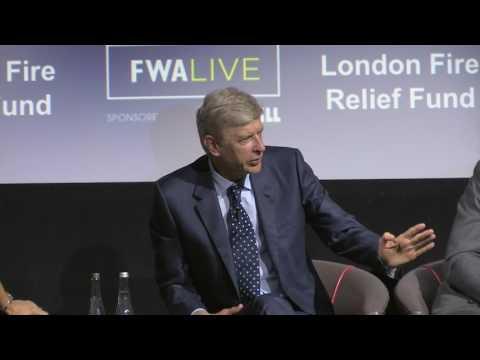 Wenger provides fascinating insight at FWA Live