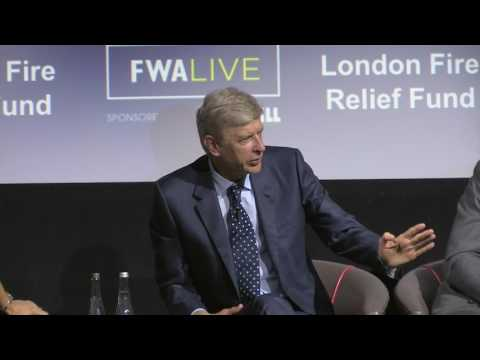 Wenger provides fascinating insight at FWA Live