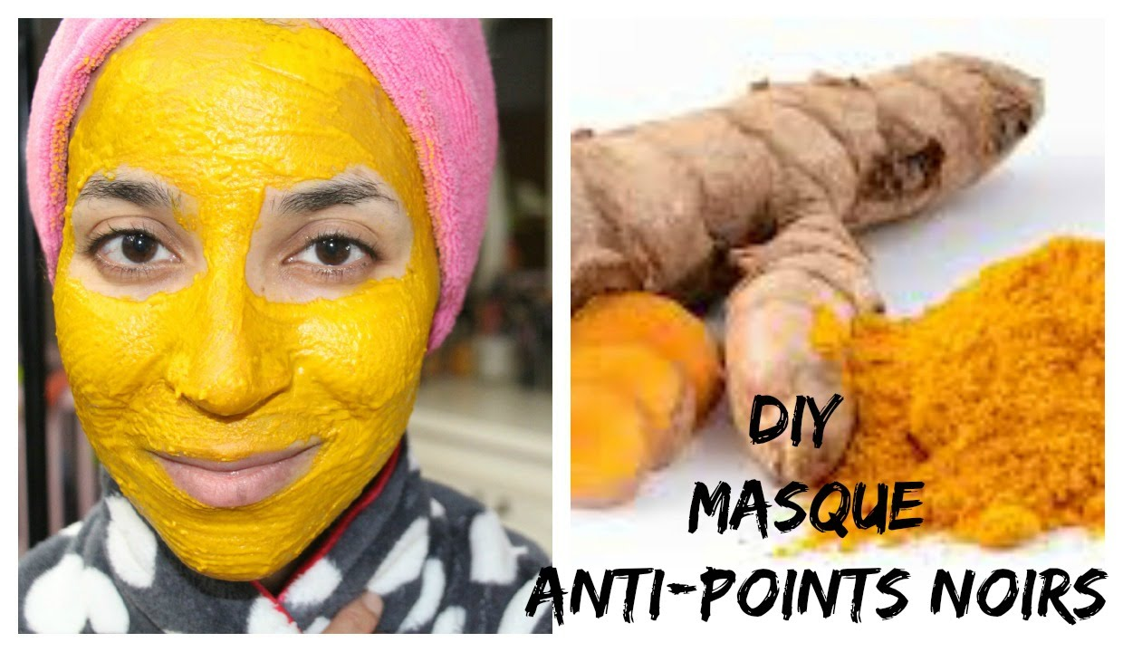 Super DIY : Masque Curcuma anti points noirs - YouTube MS28