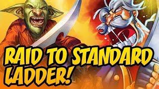 Raid To Standard Ladder! | Rise Of Shadows | Hearthstone