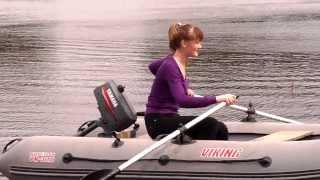 Лодка надувная из пвх VIKING 3.20 компании Посейдон, .мотор YAMAHA 2(, 2013-06-26T20:09:26.000Z)