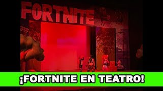 🔥 FORTNITE IN THEATRE WORK *WE PLAY WITH CHARACTERS IN REAL LIFE*