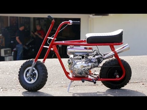 Thumbnail: Mini Bike Mayhem! Taco Mini Bikes Custom HOT ROD Bike! HOT ROD Unlimited Ep. 46