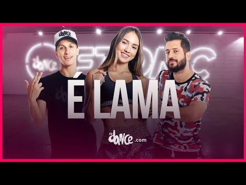 É Lama - Parangolé | FitDance TV (Coreografia) Dance Video