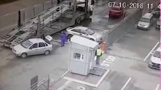 ДТП на улице Фрунзе