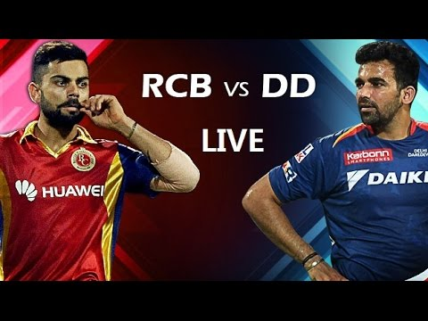 Live IPL T20 Delhi Daredevils vs Royal Challengers Bangalore match preview CricGully