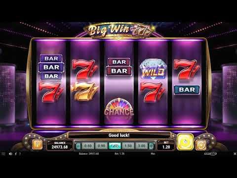 Обзор игрового автомата Big Win 777 (Play'n GO)