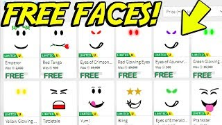 GET ANY FACE ON ROBLOX FOR FREE! *NO ROBUX*