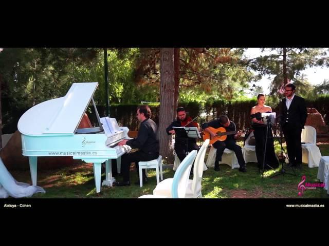 Aleluya-Hallelujah - Leonard Cohen COVER duo Soprano tenor Música bodas wedding