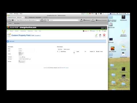 Joomla Custom Properties Extension  For Custom Search Tutorial