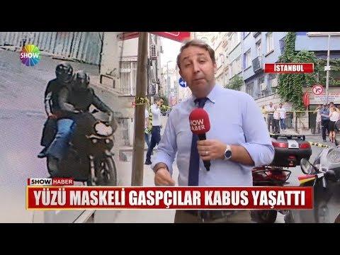 Yüzü Maskeli Gaspçılar Kabus Yaşattı