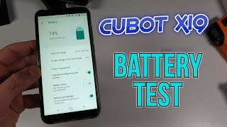 Cubot X19 Battery Test: Drain/Life/ SOT/Screen on time/Helio P23 with 4000MAH