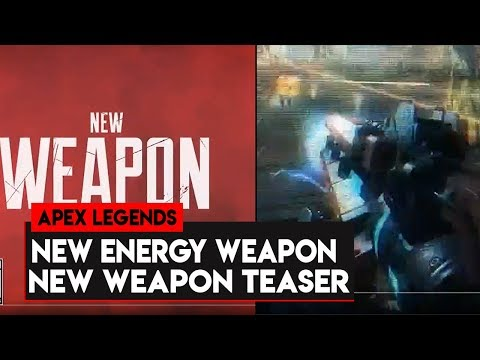 Apex Legends: NEW Energy WEAPON Tomorrow! New Apex Legends Weapon Teaser