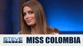 Miss Colombia: A lot of lawyers contacted me! || STEVE HARVEY