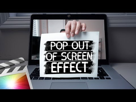 Pop Out Effect | Final Cut Pro X Tutorial