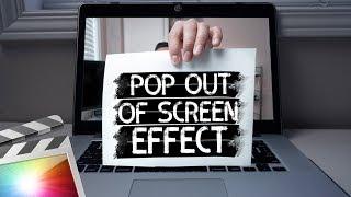 Pop Out Effect   Final Cut Pro X Tutorial
