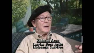 Metamorphosis in the life of Kalman Aron - part 1 of 3