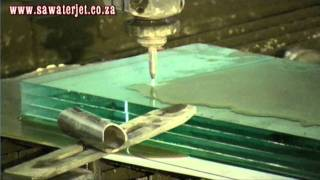 WaterJet Cutting 38mm Bullet Proof Glass