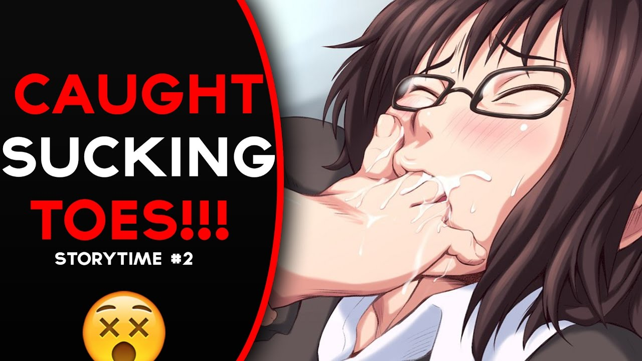 anime toe sucking