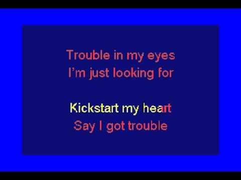 Motley Crue - Kickstart My Heart Karaoke
