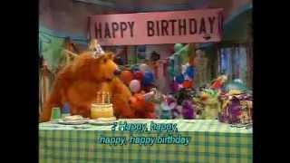 "Bear in the Big Blue House ""Happy Birthday"" Song"