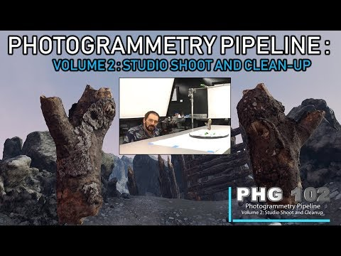 PHG 102- Photogrammetry Pipeline: Studio Shoot and Cleanup