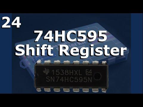 Lesson 24 - 74HC595 Shift Register