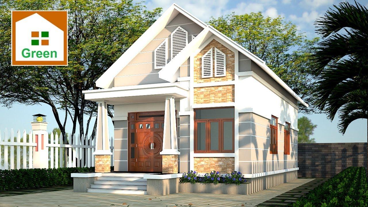 Nhà Đẹp Green Chia Sẻ Mẫu Nhà Vườn Đẹp 7 m x 16 m Có 3 Phong Ngủ Đủ Công Năng Tại Thái Bình