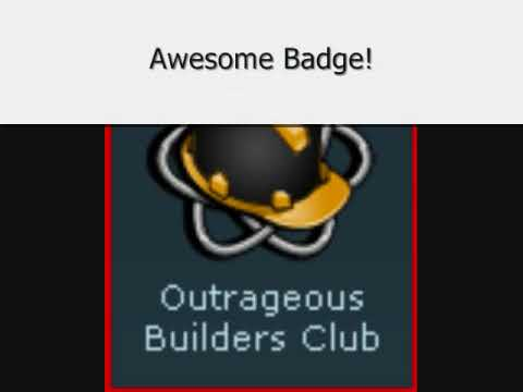 Outrageous Builders Club! - ROBLOX