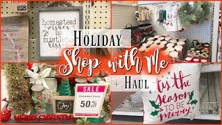 Holiday Shop with Me + Haul || Target & Hobby Lobby