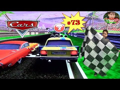 DISNEY PIXAR CARS - MATER NATIONAL - PART#73 - TEAM RELAY 4 - RADIATOR SPRINGS