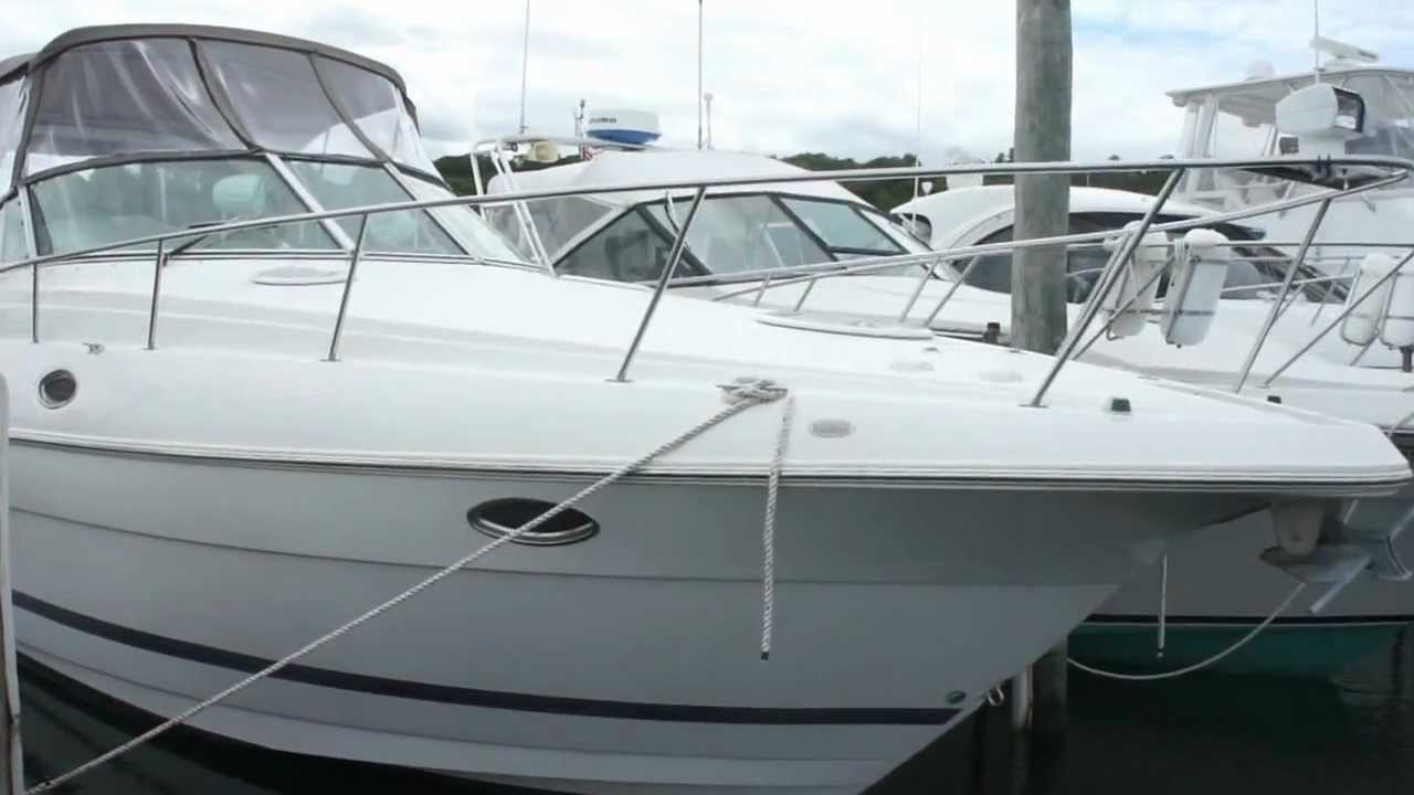2003 Cruisers Yachts For Sale 32 Foot Twin Volvo Pentas
