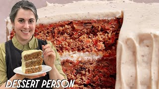 Claire Saffitz Makes Carrot and Pecan Cake | Dessert Person