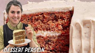 Claire Saffitz Makes Caŗrot and Pecan Cake | Dessert Person