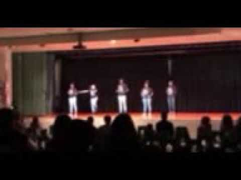 Albright middle school step team part 2