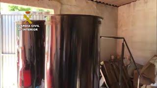 Desmantelado en A Coruña un laboratorio clandestino de falso gel hidroalcohólico
